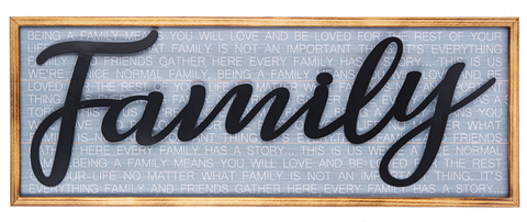 Family Wall Plaque