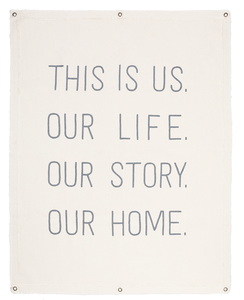 This Is Us Cotton Wall Art
