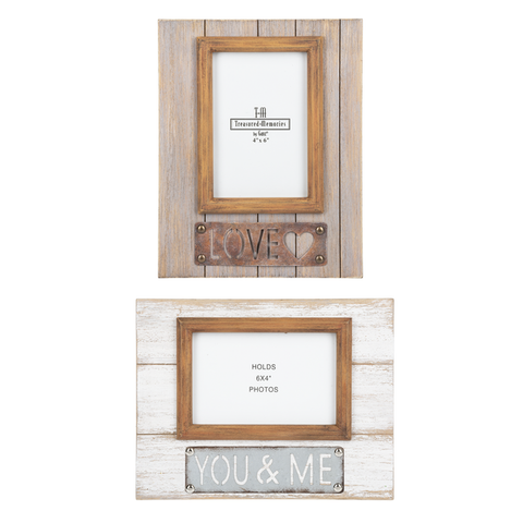 Naturally Wood You and Me Frames