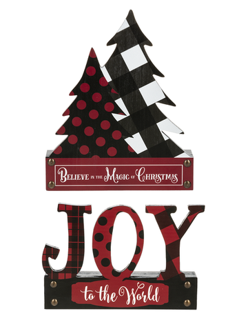 Holiday Desk Plaques