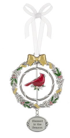 3D Ornament - Blessed is the Season