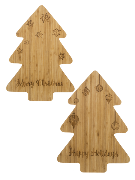 Holiday Cutting Boards - Christmas Tree Cutting Board