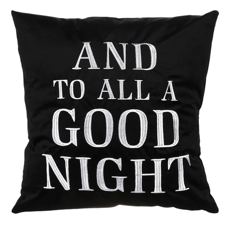 And to All a Goodnight Pillow