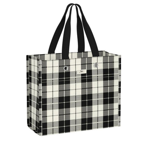SCOUT Large Package Gift Bag in Plaid