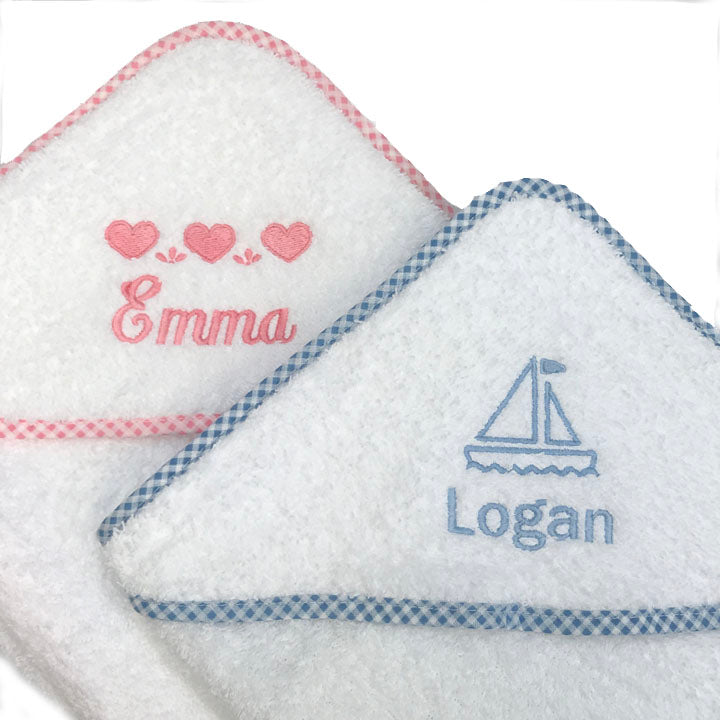 Personalized Hooded Baby Towels