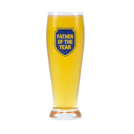 Father of the Year Pilsner Glass