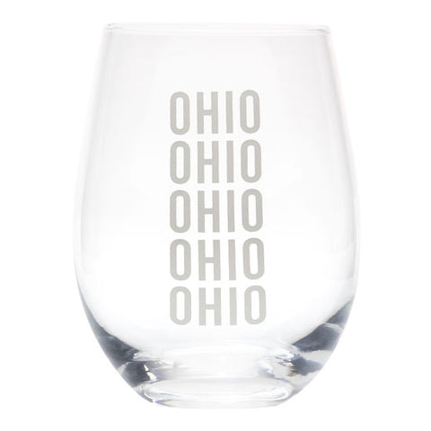(New) Ohio Wine Glass