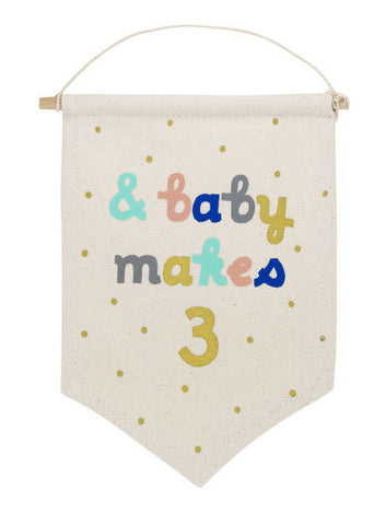 & Baby Makes 3 Banner