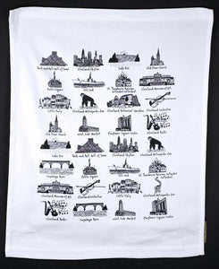 Cleveland Tea Towel