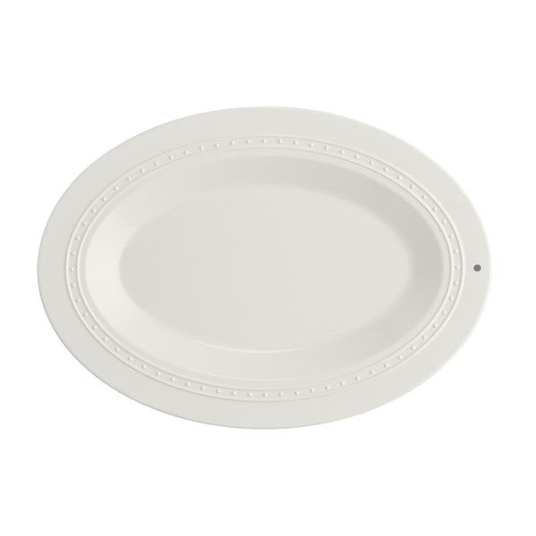 Nora Fleming Oval Melamine Server