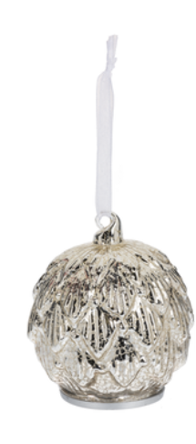 Metallic Glass Ornaments