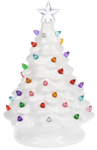 LED Light Up White Tree
