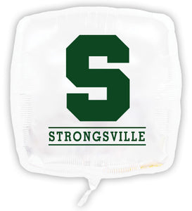 Strongsville Square Foil Balloon