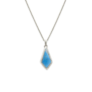 Luca + Danni Sloane Necklace in Dyed Turquoise Howlite