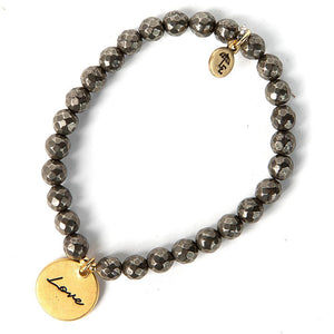 Love Token Stretch Bracelet