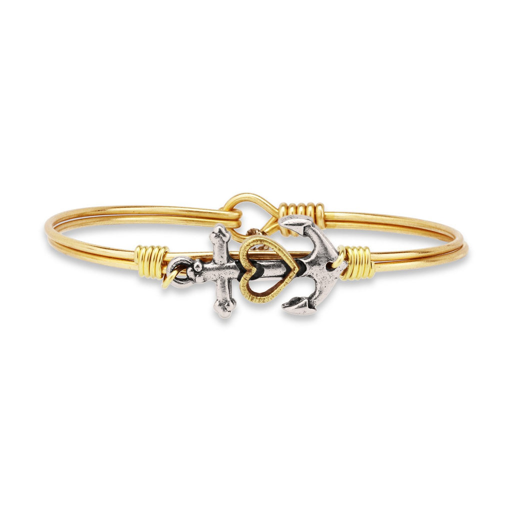 Luca + Danni Anchor Bangle