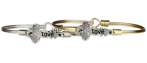 Luca + Danni Love Key Bangle