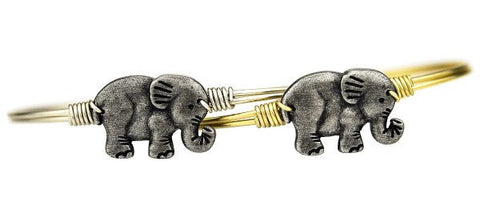Luca + Danni Elephant Bangle