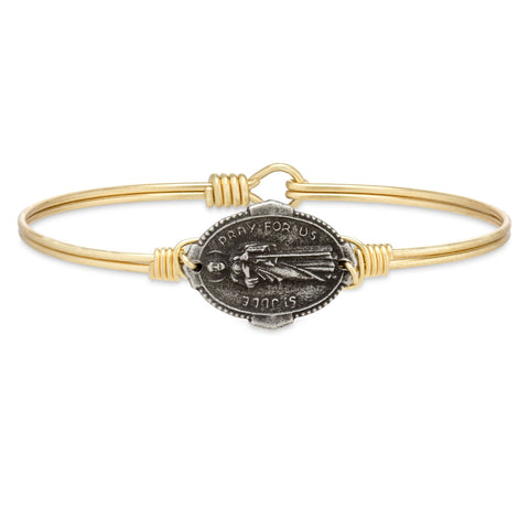 Luca + Danni Saint Jude Bangle Bracelet