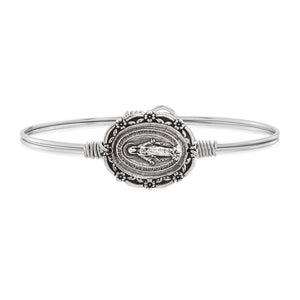 Mother Mary Bangle Bracelet