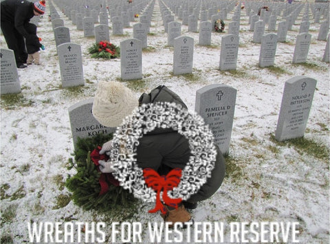 Christmas Wreath for Western Reserve Resting Place