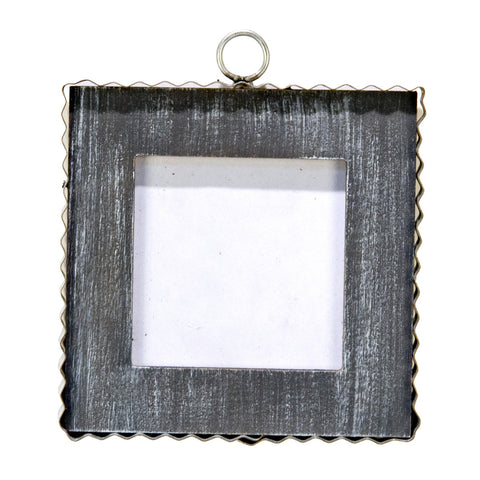 RTC Mini Gray Photo Frame