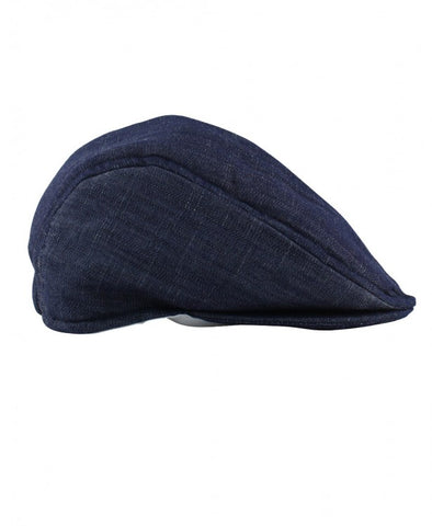 Denim Drivers Cap