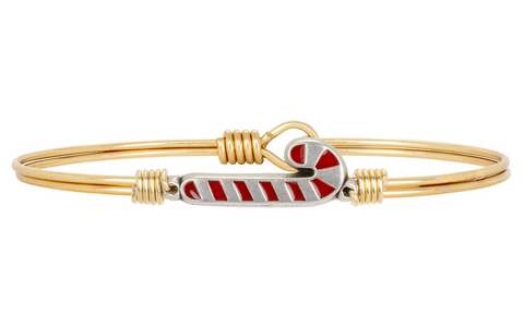 Luca + Danni Candy Cane Bangle Bracelet