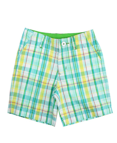 Finn Plaid Shorts