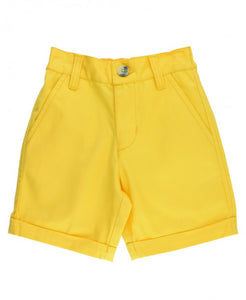 Yellow Chino Shorts