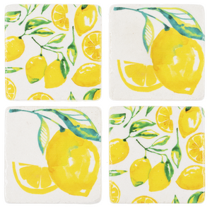 Lemon Coaster Set