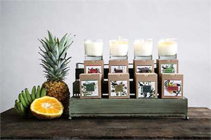Flair Clear Glass Scented Candles