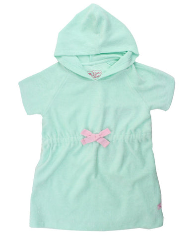 Ruffle Butts Aqua Terry Cover-Up