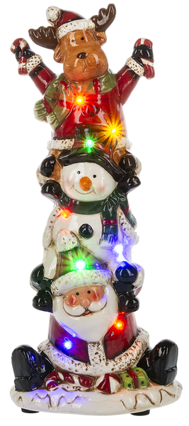 Santa & Pals Light Up Musical Figurine