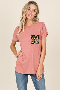 Leopard Pocket Brick Tunic