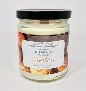 Pumpkin Candle