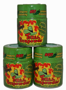 Texas GunPowder Original Jalapeno Powder .5 oz