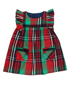 Kennedy Plaid Jumper Dress