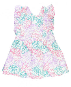Peony Party Cross Back Dress
