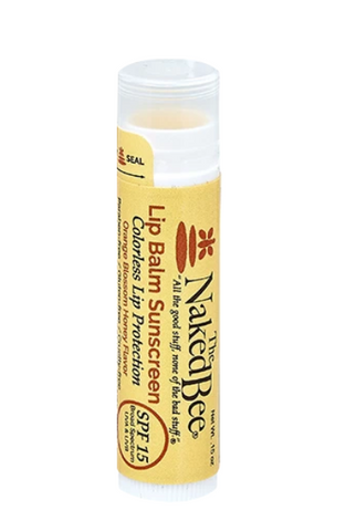 Orange Blossom Honey SPF 15 Tinted Lip Balm in Colorless