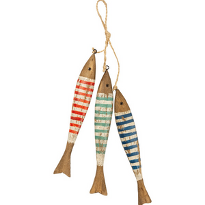 Hanging Decor - Striped Fish