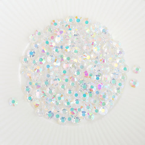 Jewels - Chunky Clear Iridescent