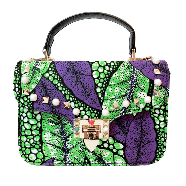 African Print Crossbody Bag (11 colors) - Nkeoma