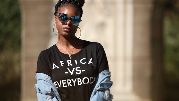 Africa VS Everybody Tee - Nkeoma By Ivy & Livy