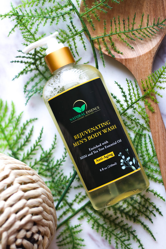 Natural Essence Skincare REJUVENATING MEN'S BODY WASH - Nkeoma