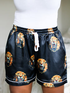Lion Head (Isi Agu) Sleep Shorts - Nkeoma