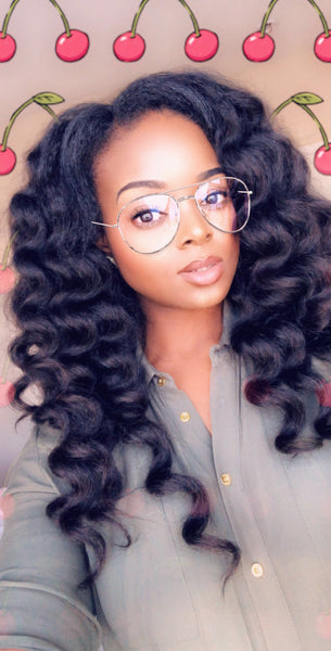 Kinky Blow Out Upart Wig - Nkeoma