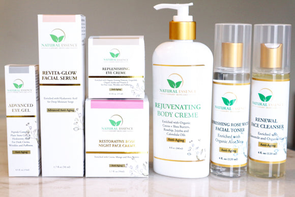Natural Essence Skincare GOLD COLLECTION STARTER KIT - Nkeoma