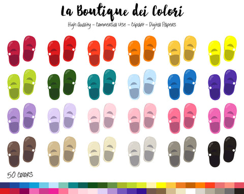 Baby Shoes Planner Clipart