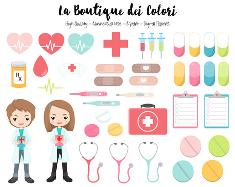 Doctor Clipart - La Boutique Dei Colori - 1